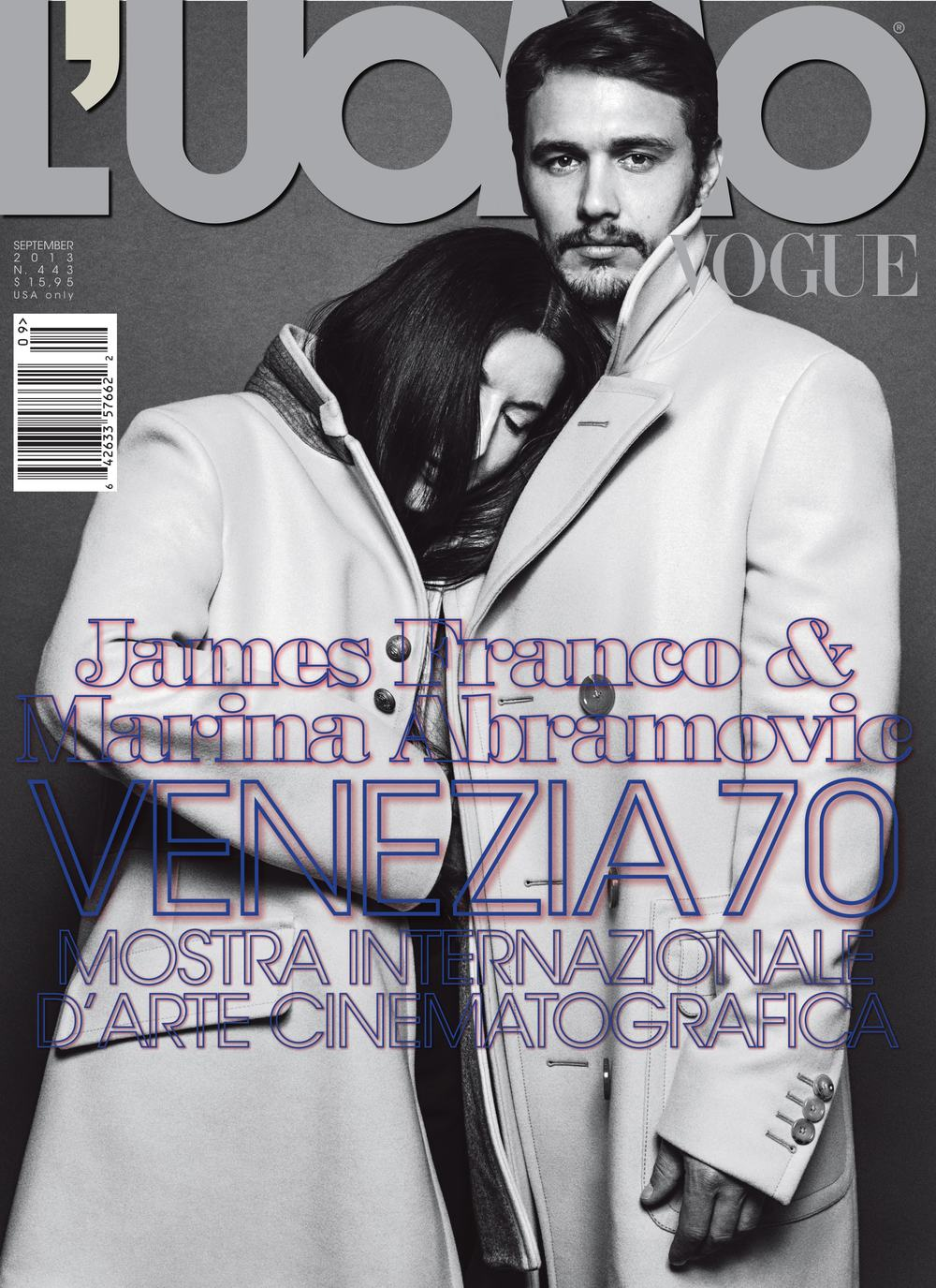 MARINA ABRAMOVIC & JAMES FRANCO