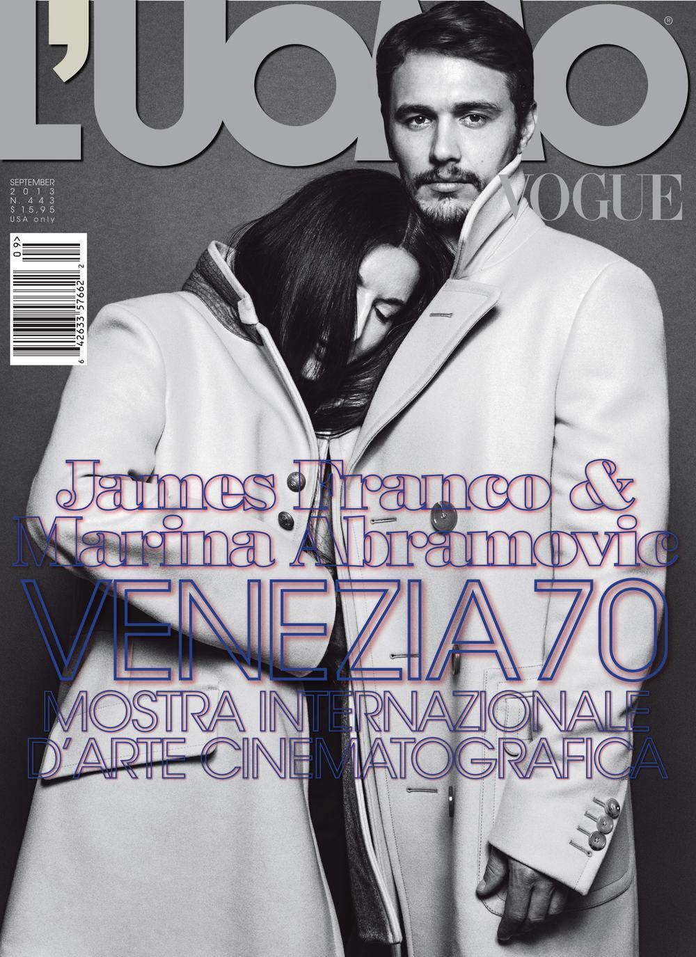 MARINA ABRAMOVIC & JAMES FRANCO