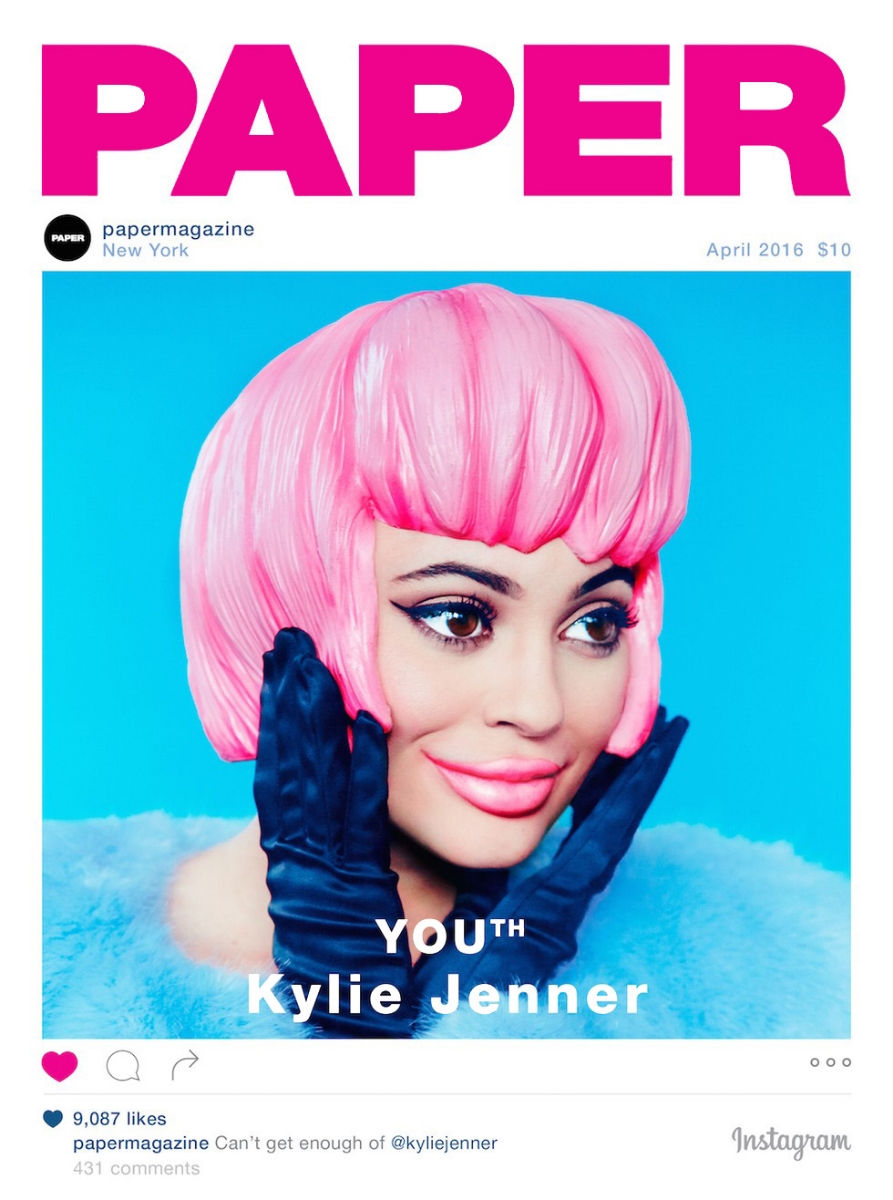 PAPER MAGAZINE | KYLIE JENNER