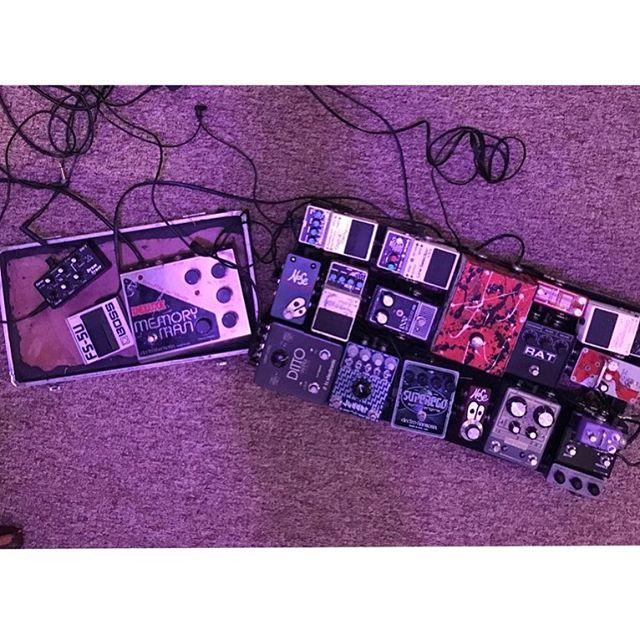 Kyalo's (@_id.__ ) pedal board