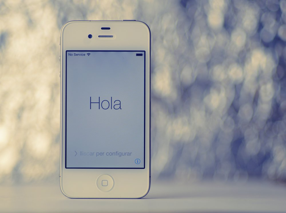 use your smartphone to learn spanish