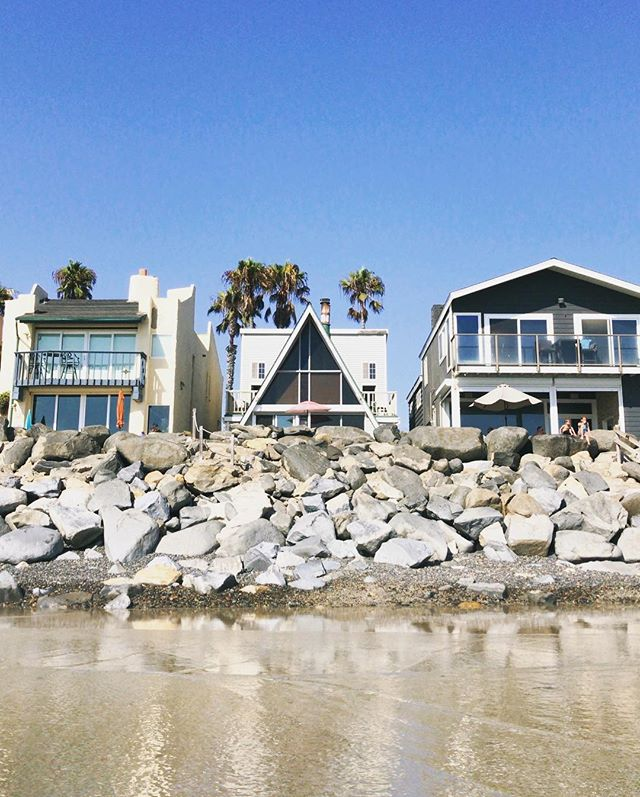 Beach house dreaming.  Guess which one's my favorite? #maandpamodernbeachdays