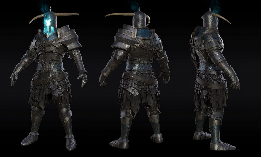 Realistic character modelling -