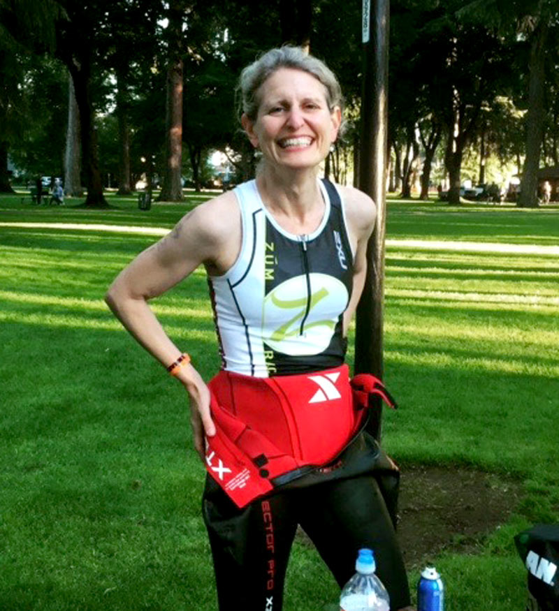 Delwen Jones, 40-44 Triathlete