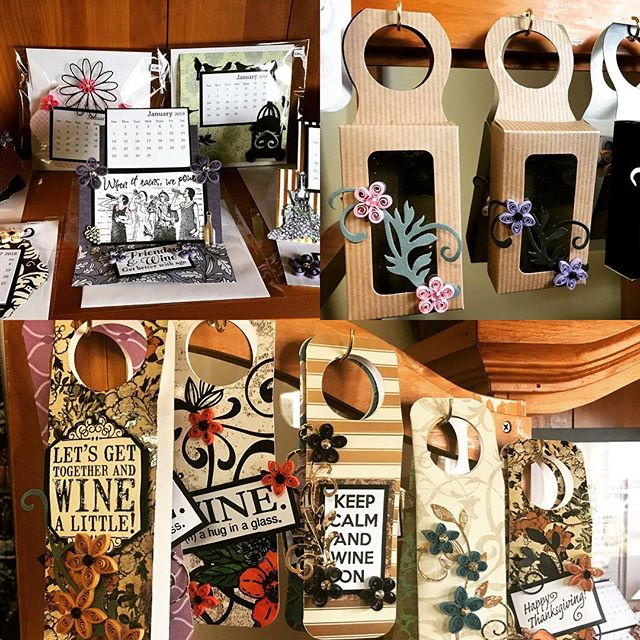 Wine makes a great gift. Add a special touch with these unique cards and calendars.