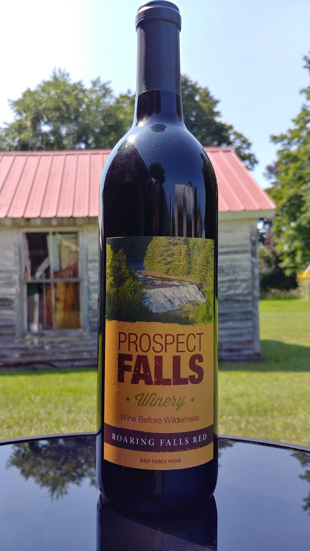 Roaring Falls Red    $16.95 +tax