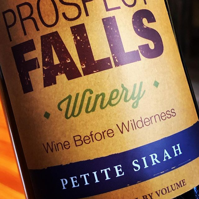Now offering Petite Sirah, our latest in a growing lineup of dry reds. #wine #redwine