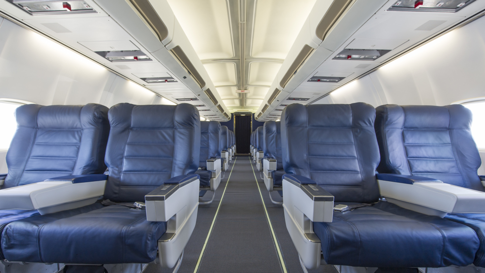 68 LEATHER BUSINESS CLASS SEATS