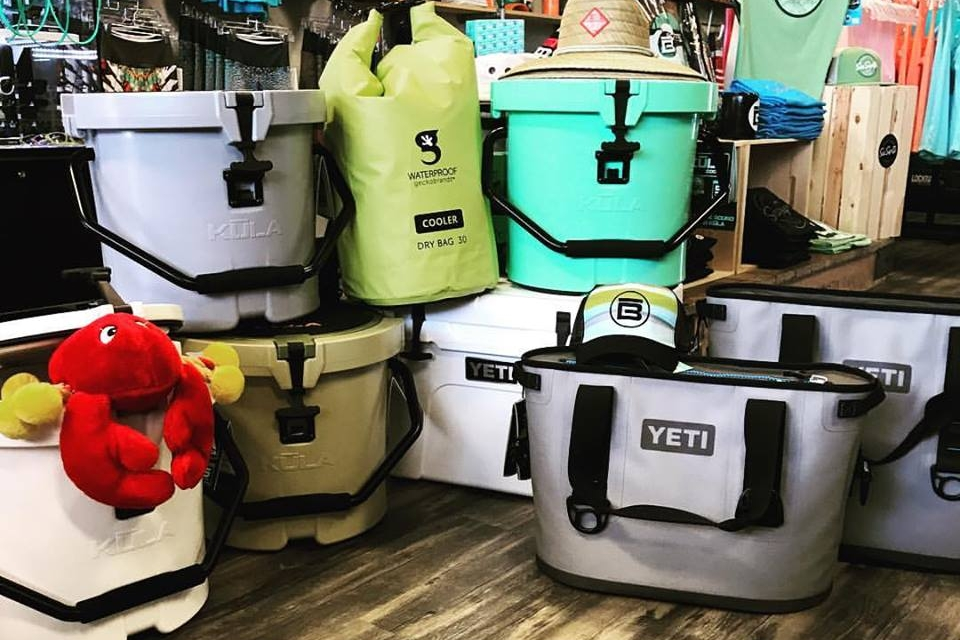 Coolers - Yetis and Kulas to keep your drinks cool on and off the board