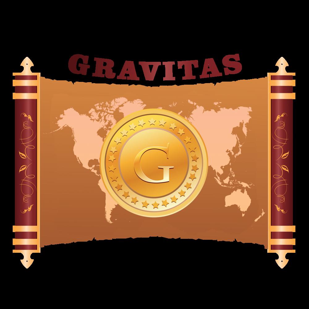 The Gravitas Manuscript Logo