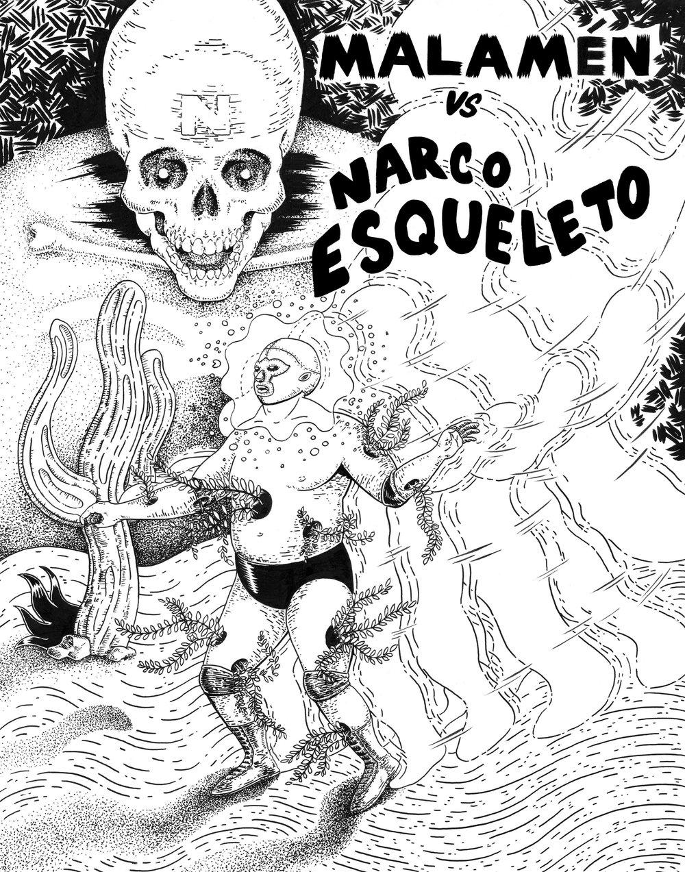 Vs Narco Esqueleto