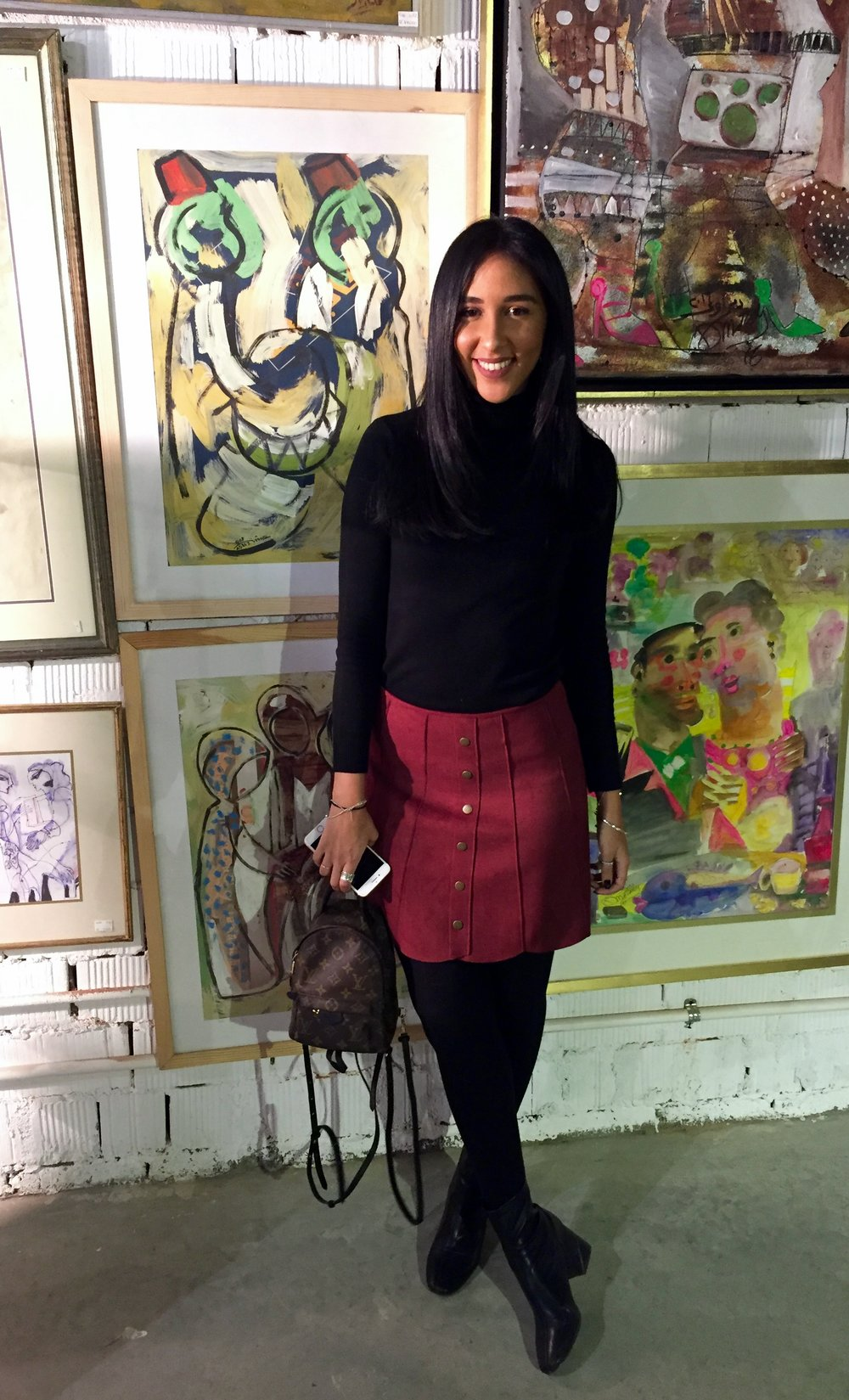 Radwa El Ziki, founder of  Zedified , a fashion and lifestyle blog.