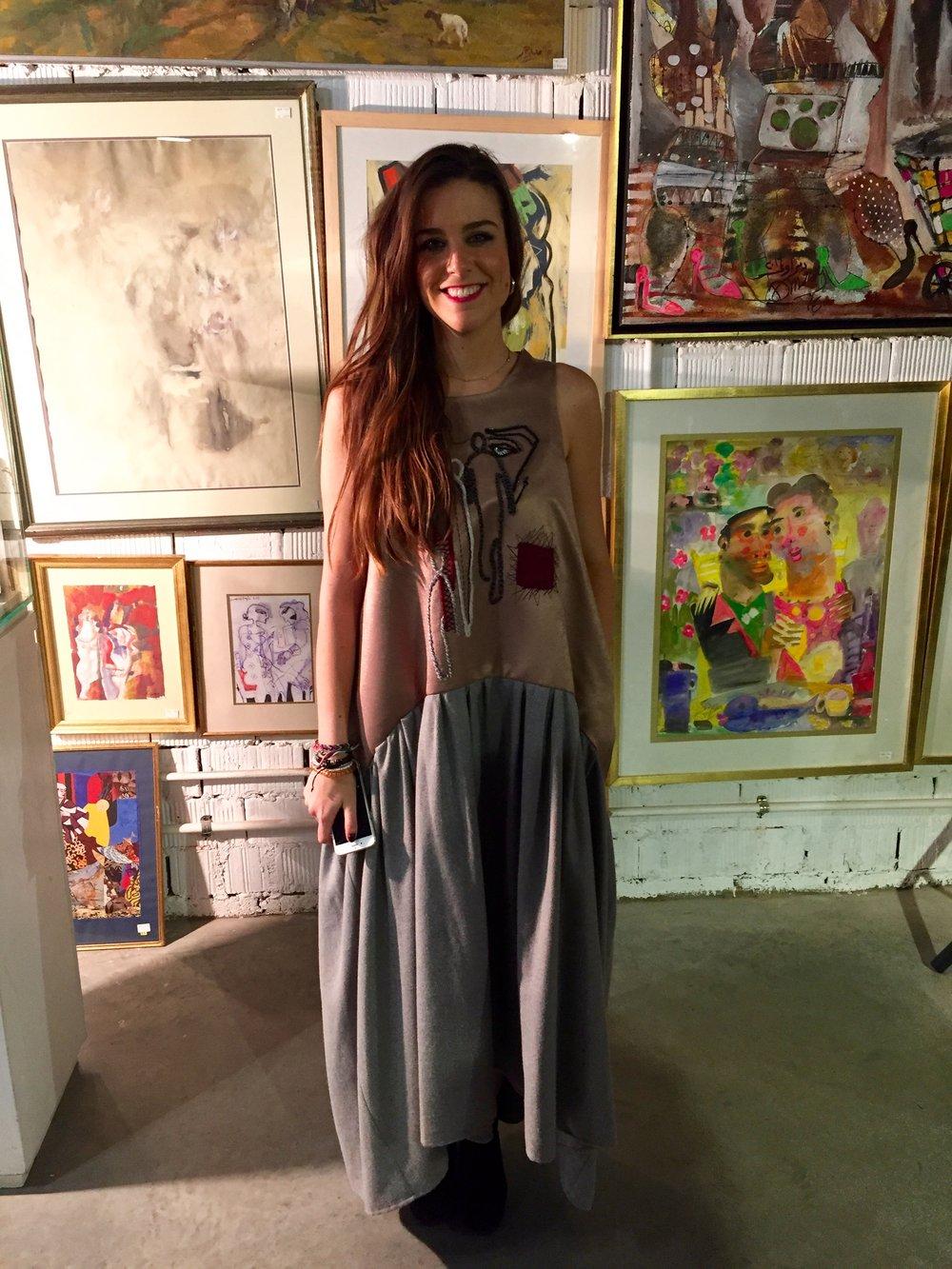 Maria , co-founder at Maison Pyramide a fashion strategy house.