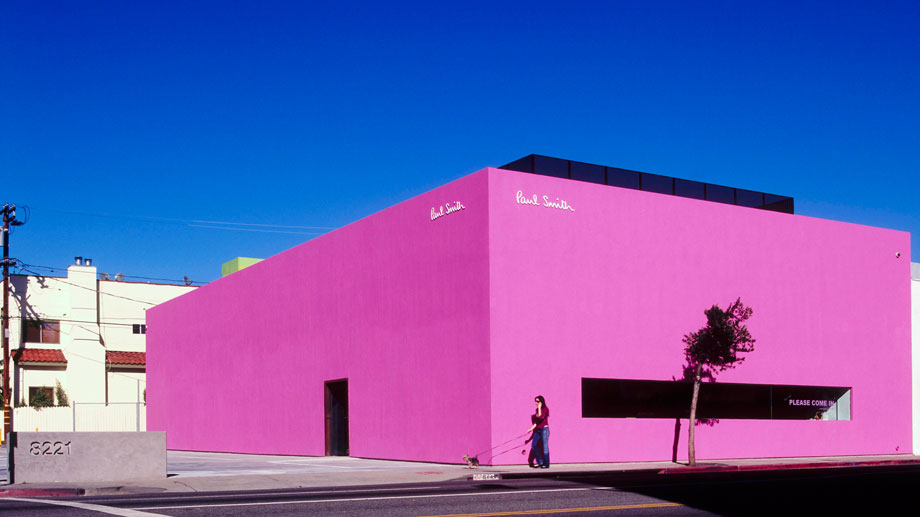 Paul Smith  store on Melrose Place, Los Angeles, California.
