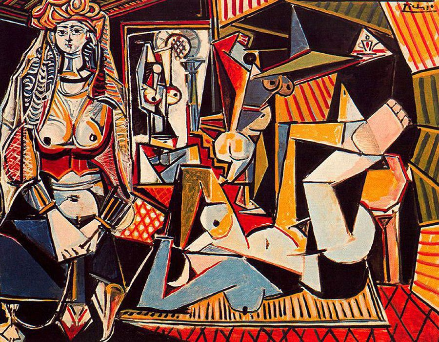 The Woman of Algiers by Pablo Picasso