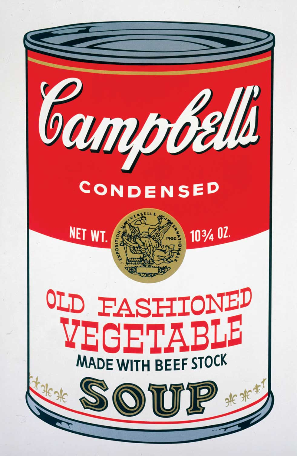 Campell's Chicken Noodle Soup by Andy Warhol