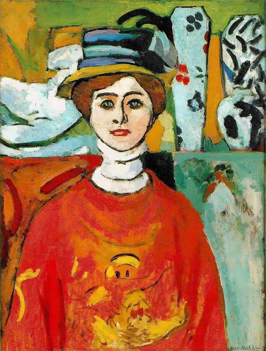 The Girl With The Green Eyes by Henri Matisse