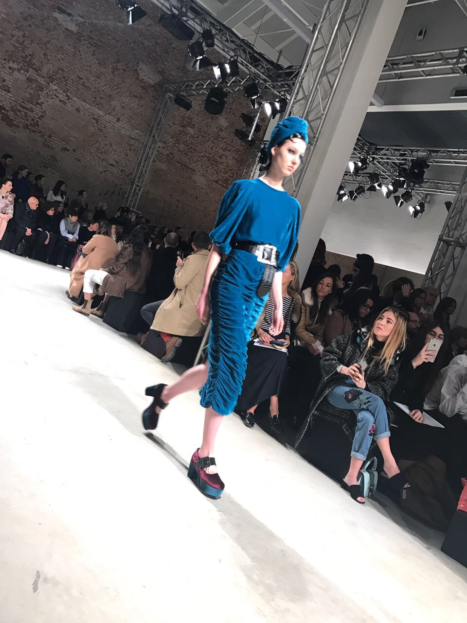 Antonio Marras - Velvet is still going strong and turbans have become a fashion staple this season.