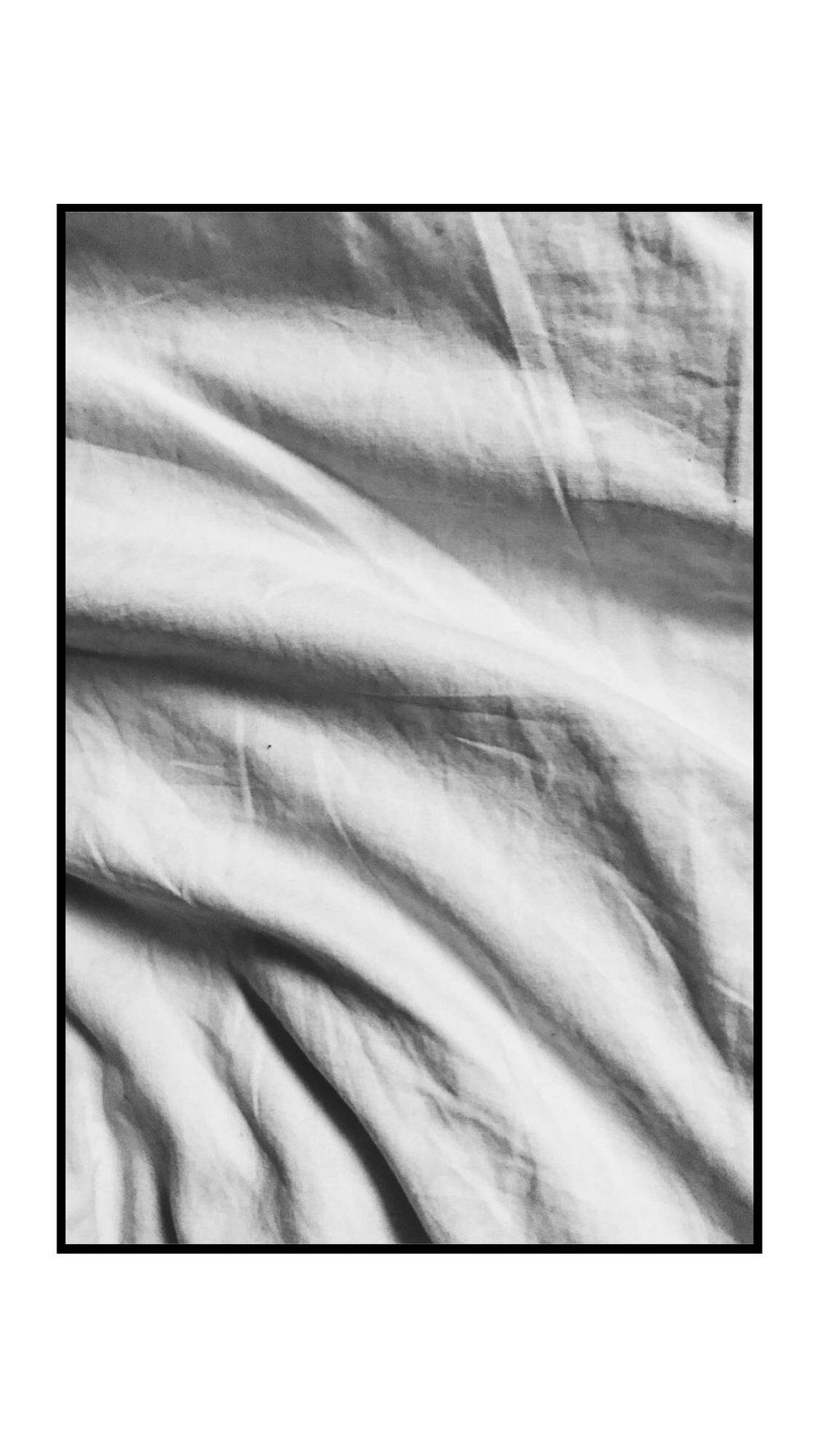 A bed sheet