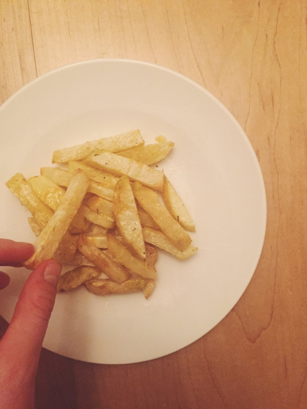 Celery Root Fries