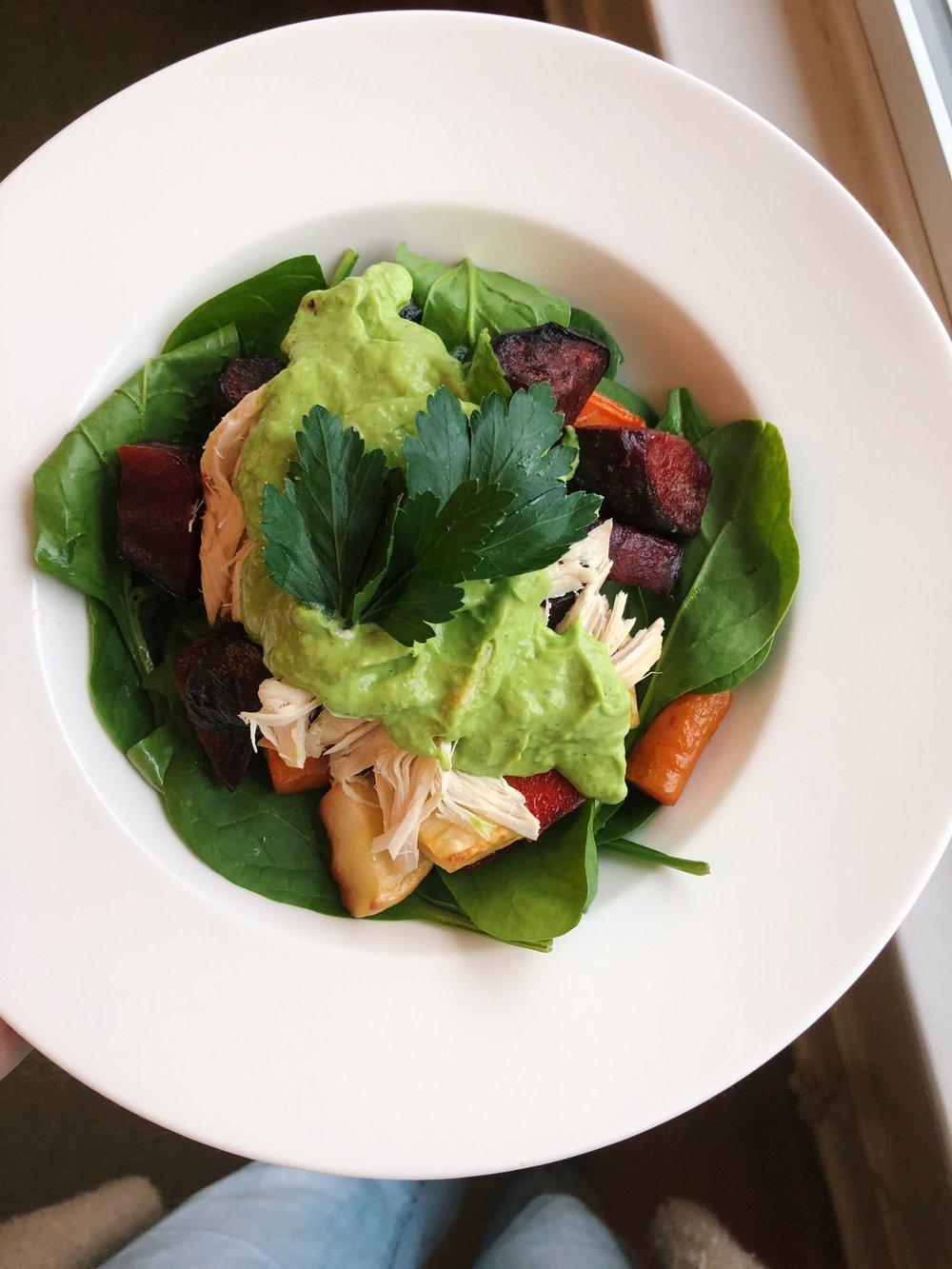 Green Goddess Lunch Bowl
