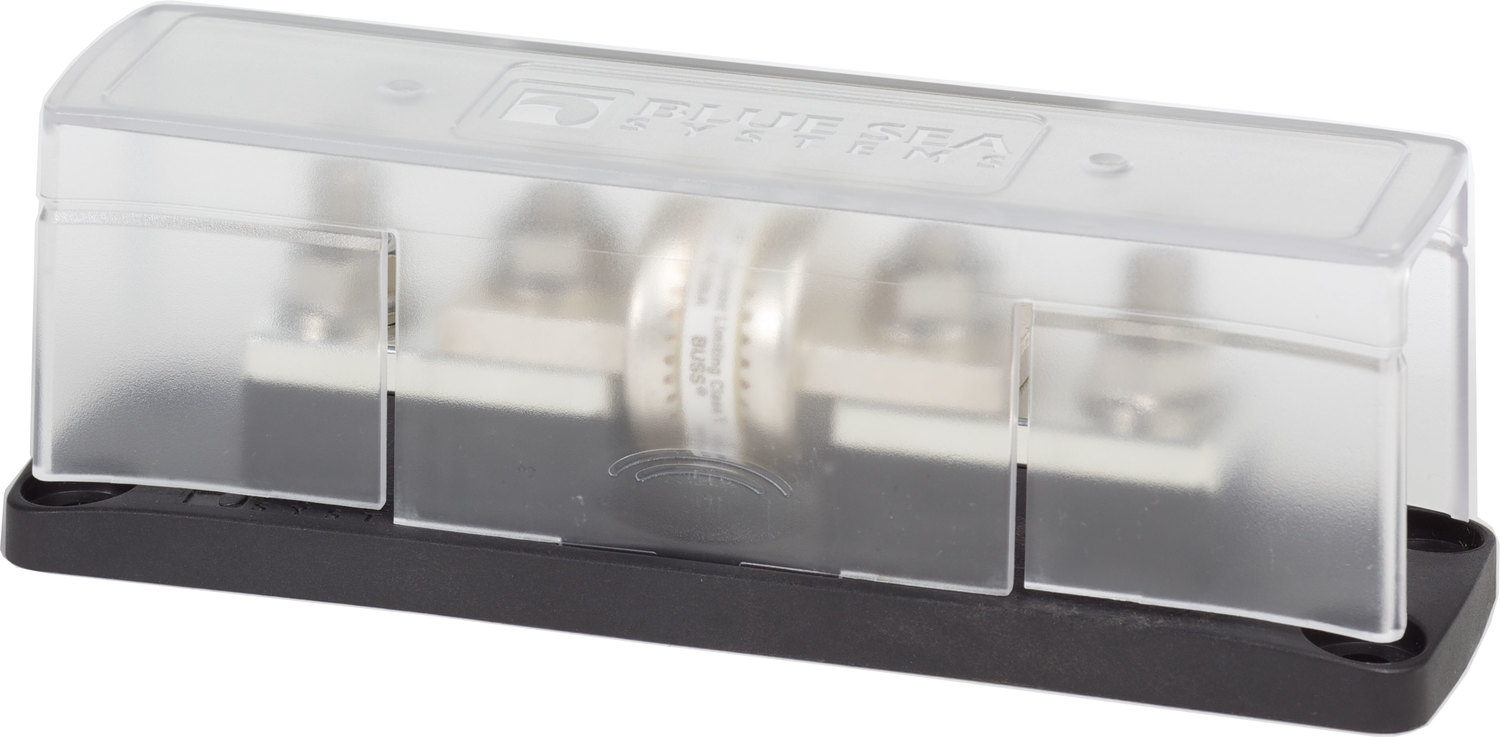 Blue Sea 5502 Class T Fuse Block With Insulating Cover 225 To 400a Marine Box Covers Solar Supply