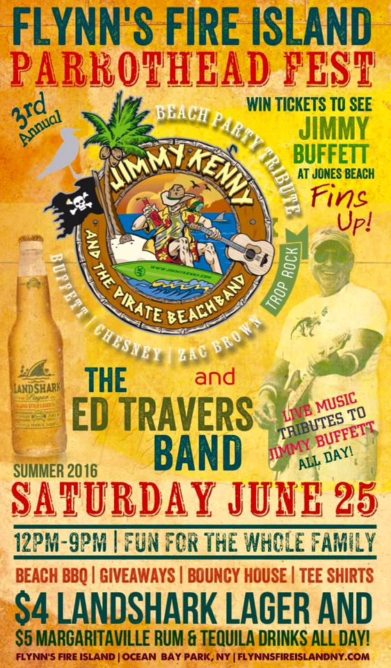PARROTHEAD FEST | 3RD ANNUAL WITH JIMMY KENNY AND THE PIRATE BEACH