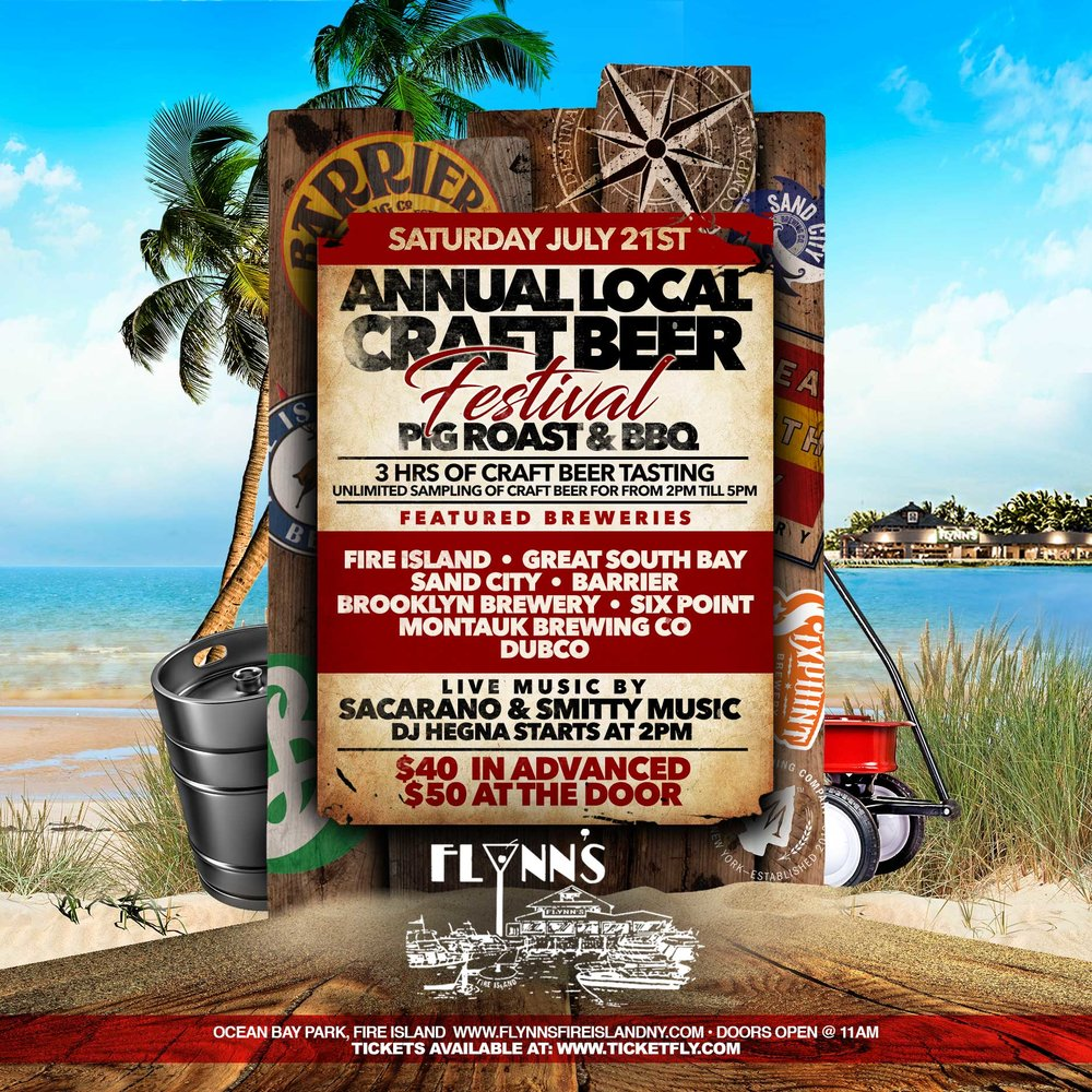 Annual Local Craft Beer Festival Pig Roast And Bbq Flynns
