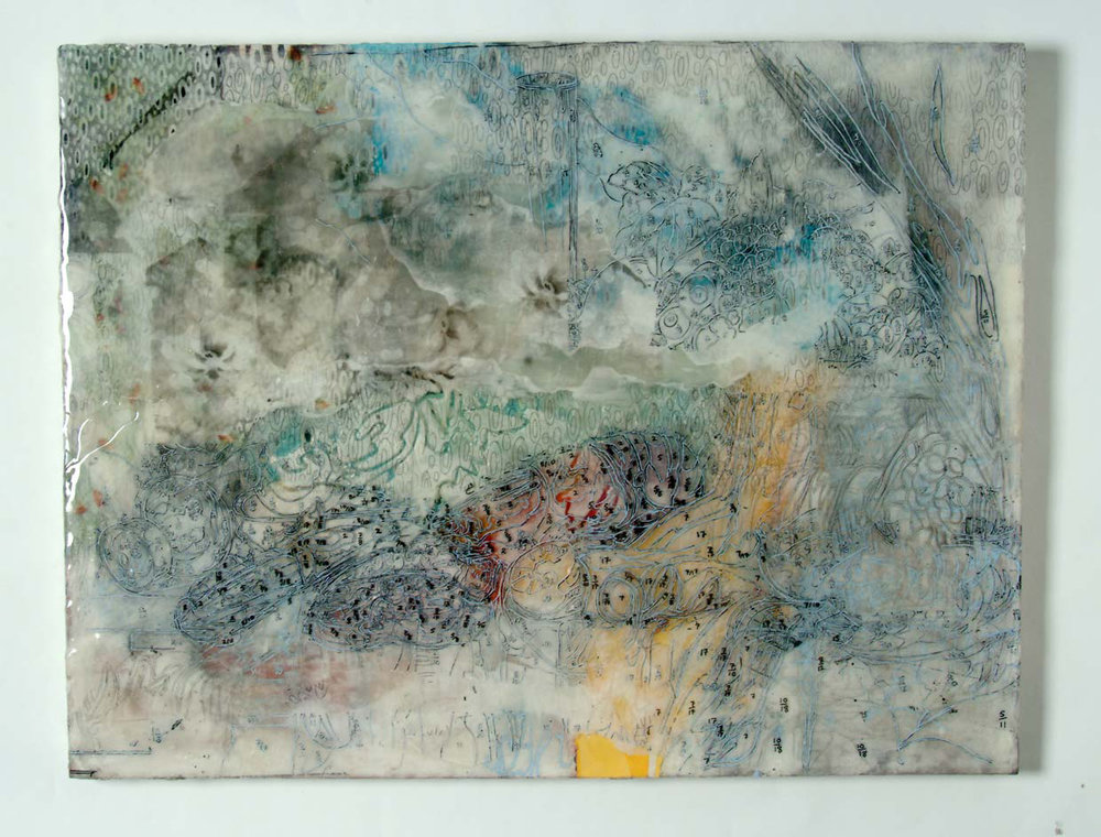 "Significant Others #1, 2010, 36"" (w) x 48"" (h)"