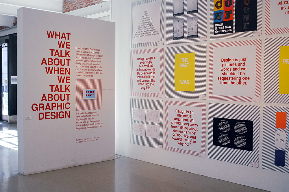 What We Talk About When Talk About Graphic Design Exhibition