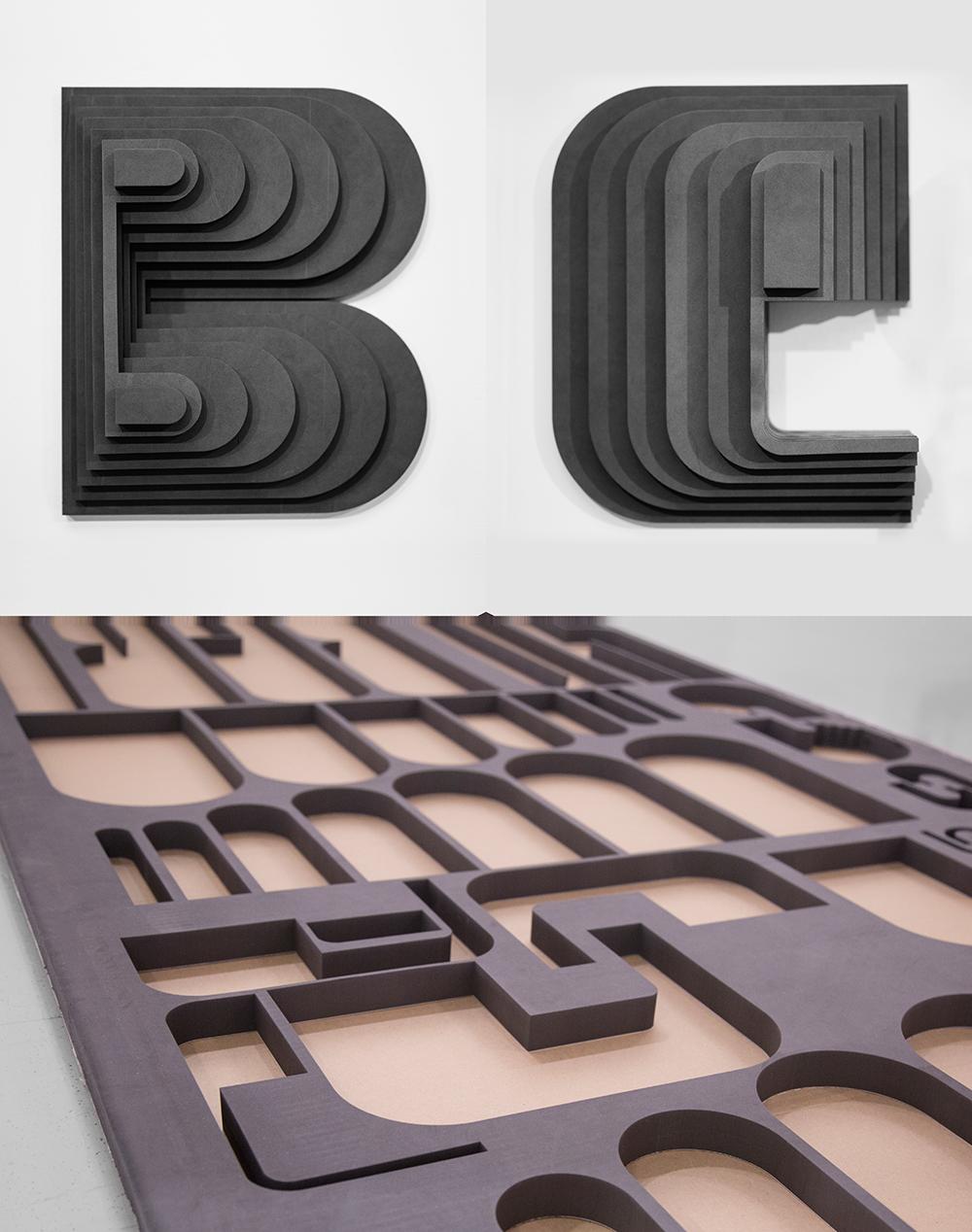 Meuron Letters B + E