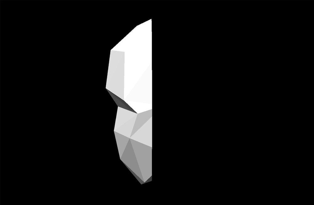 Mask 3D Render 2