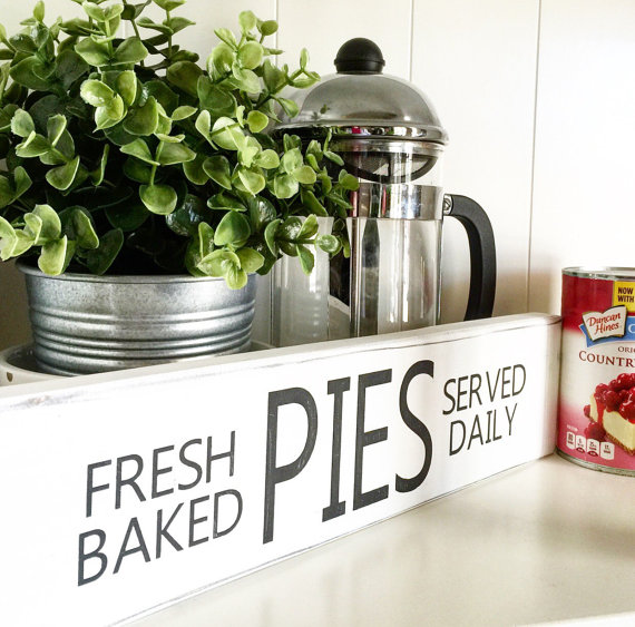 Fresh Baked Pies wooden sign by Rustic Chicks Boutique