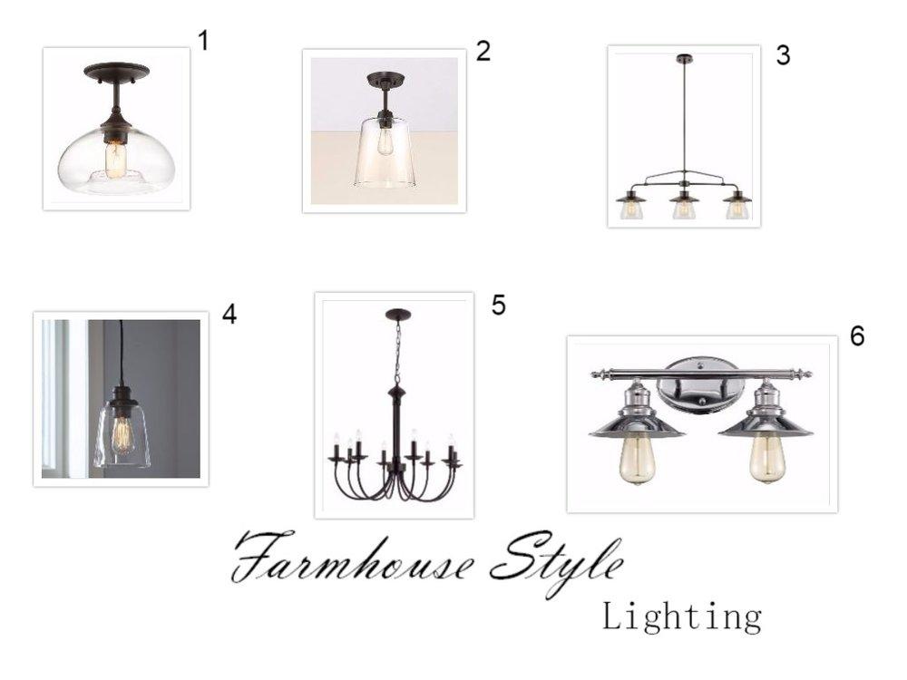 Vanity Lighting Under Usd 100 : Blog Style Nest Interiors