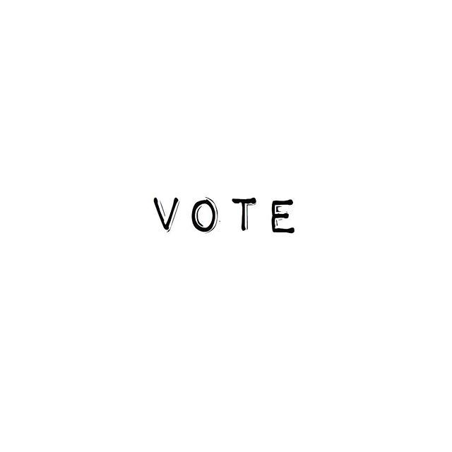 T I C K Two things happened today: 1. Voted ✔️ 2.  I've been organising a hen do for months and it takes place tomorrow.  Today I realised I'd forgotten to tell the bride that she needed to take the day off work for for it 🙈. Big ✖️. #eyeofftheball #workisoverratedanyway #londonlife #vote