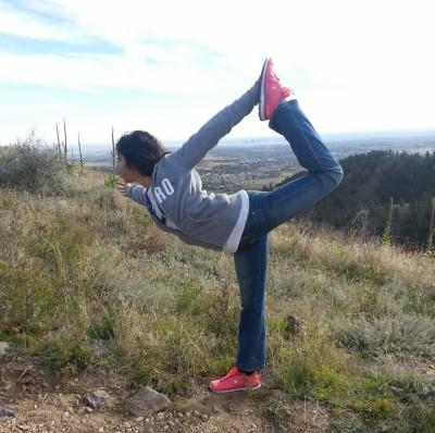 Yoga on the Rockies