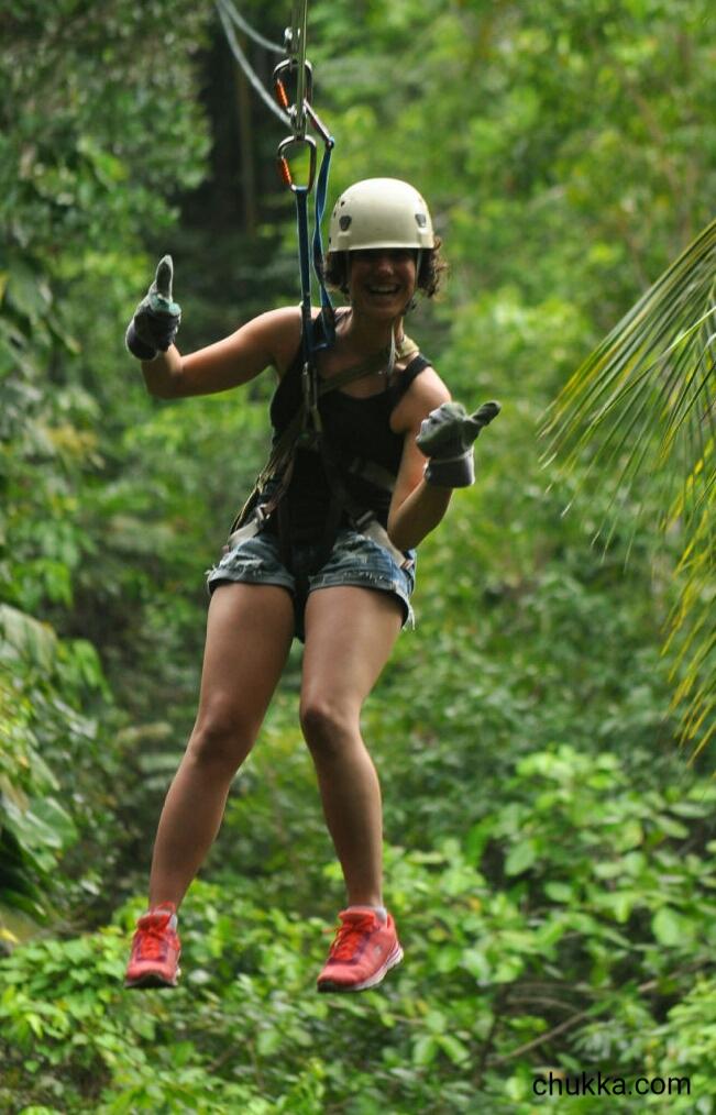 Chukka Zip Lining Jamaica