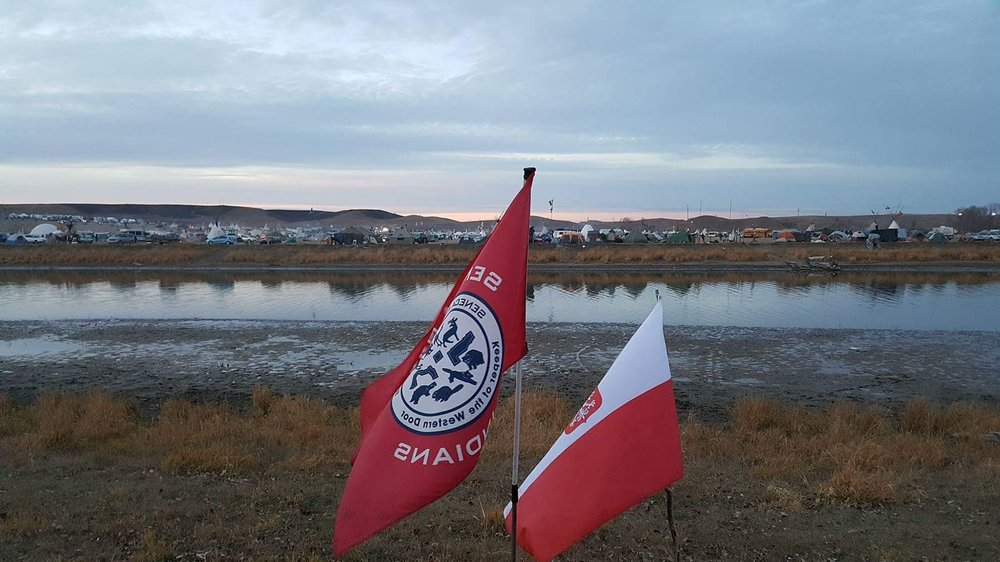 Representing Seneca Nation at Standing Rock