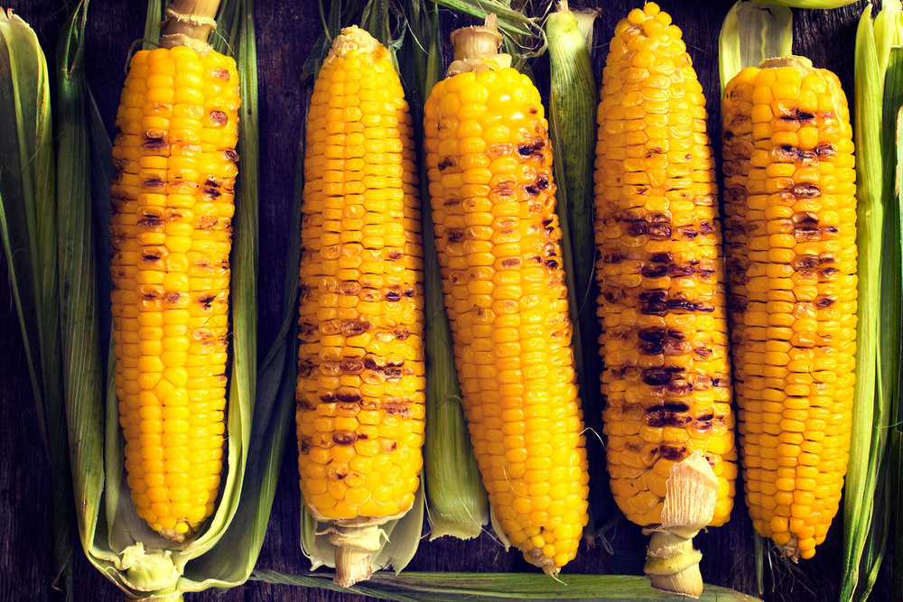 Corn - (4-6 mos.)One of the oldest grains and full of antioxidants, maize lives up to its Native American meaning: to sustain life.  Zeaxanthin makes corn yellow and is great for eyesight. Milk the corn for a natural approach to building a sauce and intrigue little chefs. Once kernels are cut off, run the back of your knife along the cob; this milk will infuse deep flavor into any dish. Family traditions are built around the dinner table; start one by adding tarragon to your corn.
