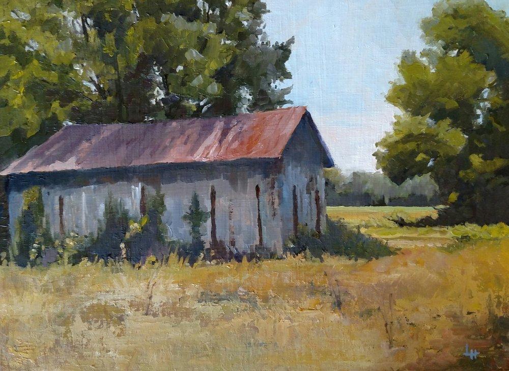 The Aged Barn