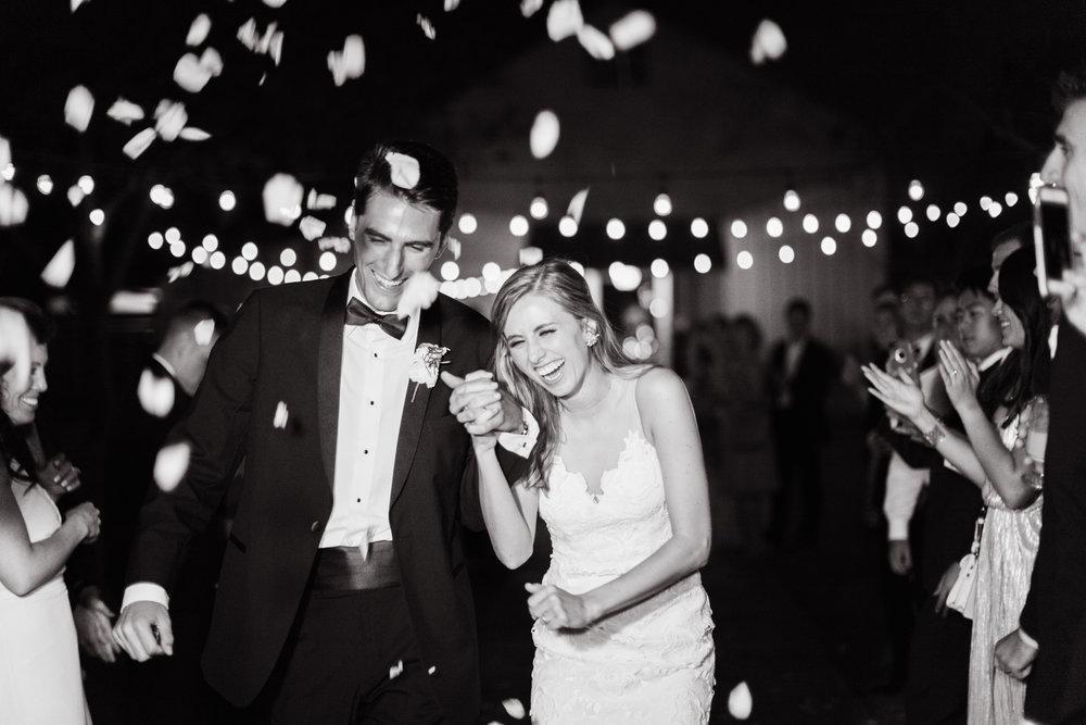 Wedding Reception Getaway