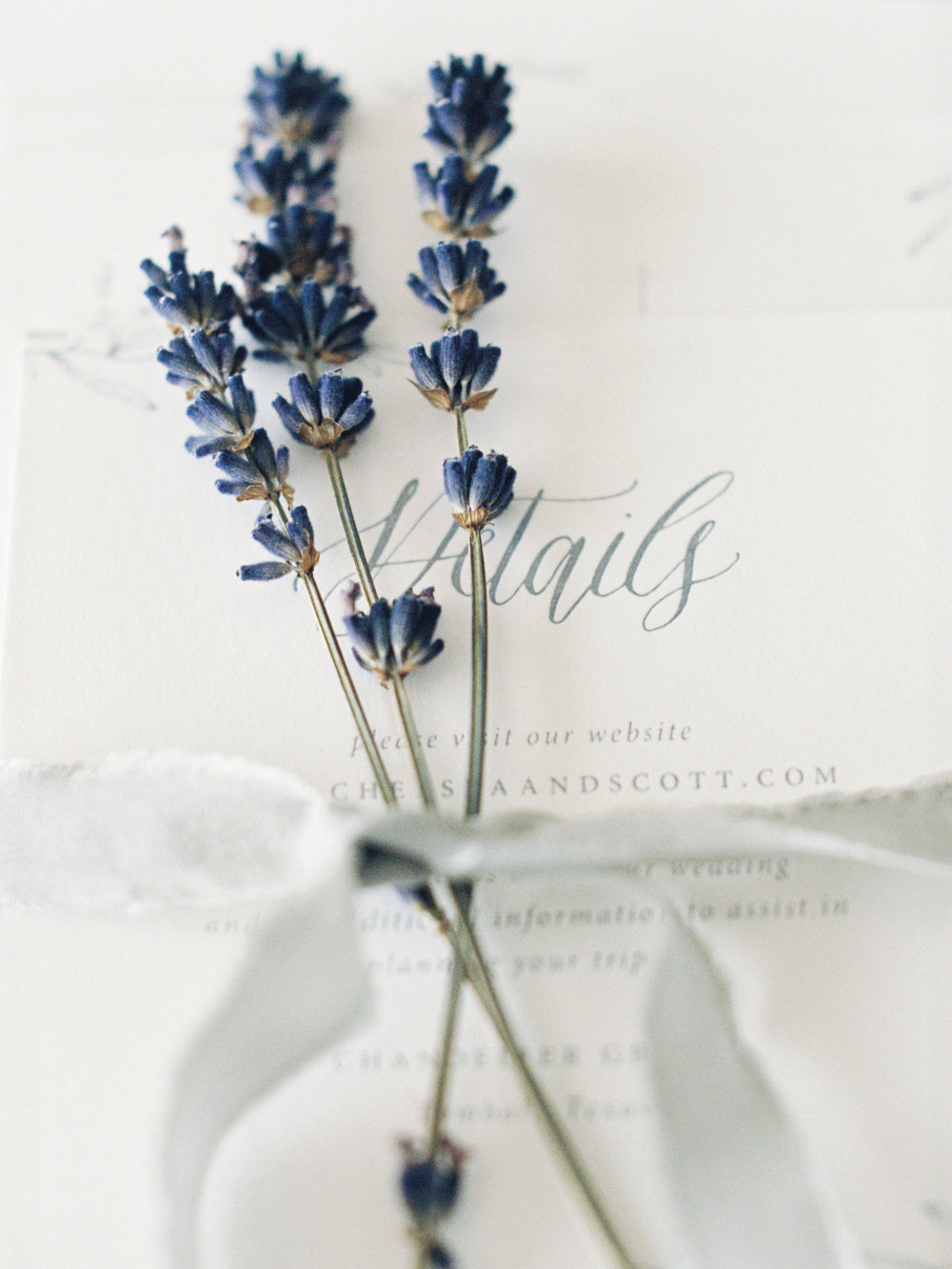 Lavender Inspired Wedding Decorations