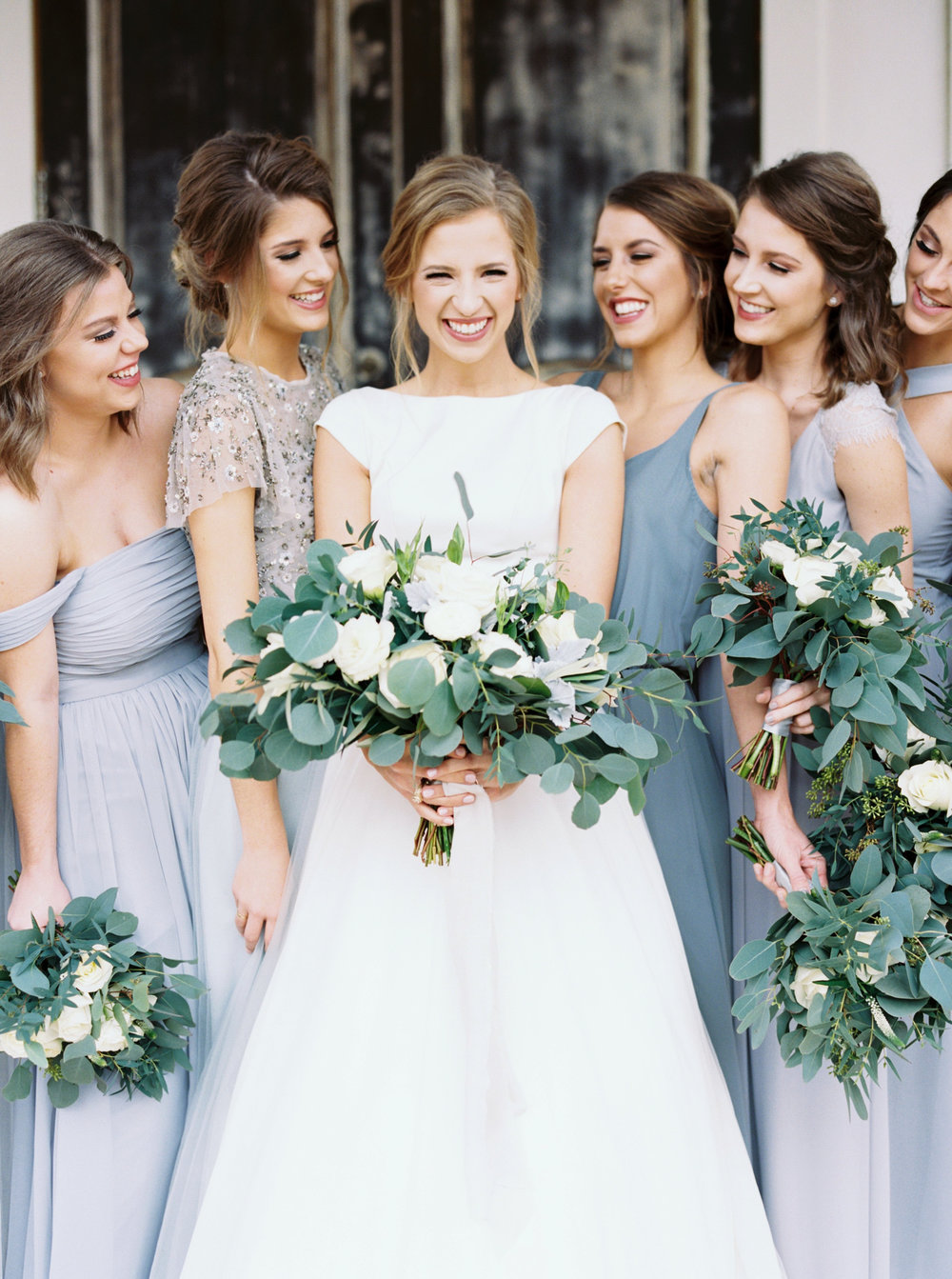 Blue and Grey Wedding Palatter