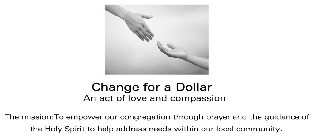 Change for a Dollar (logo)