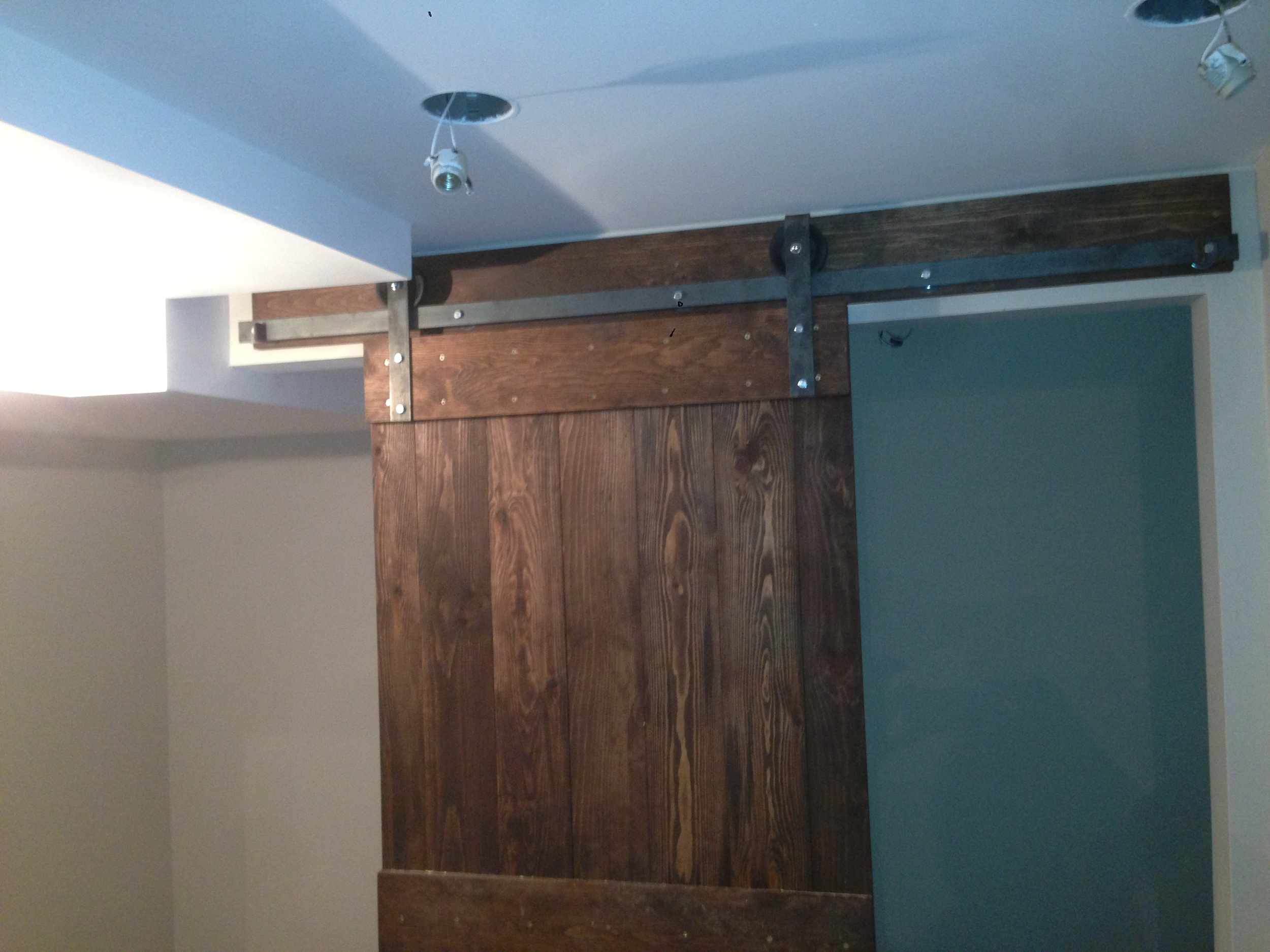 single barn door