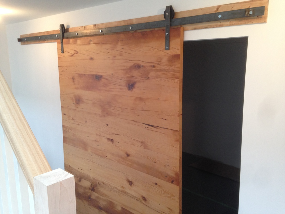 aliexpress 38in 84in pine wood knotty sliding barn