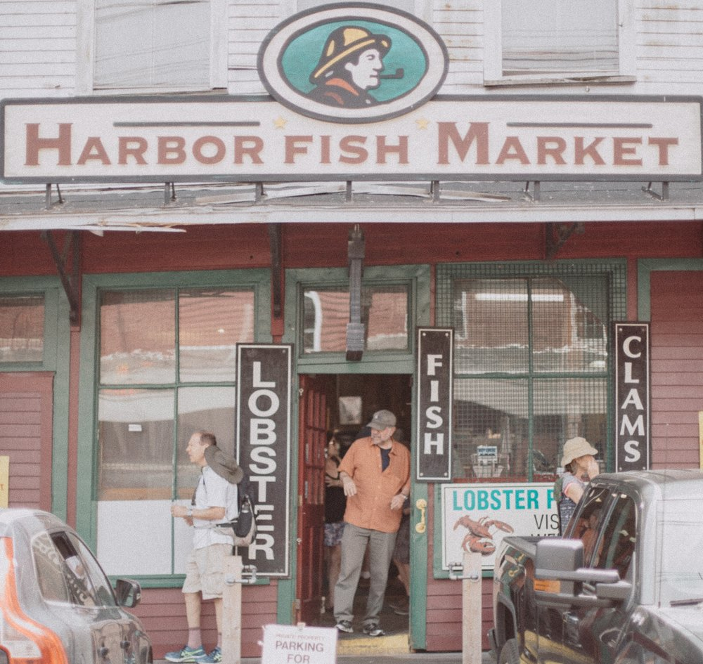 Harbor Fish Market - One of my favorite places to get fresh seafood. If you're visiting Portland it's a must to check out. They even will ship their products to you in insulated coolers.