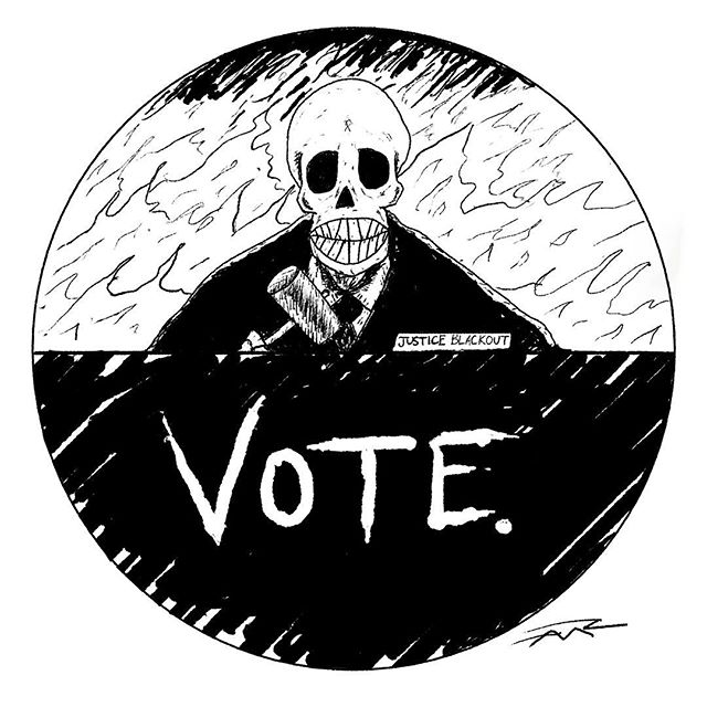 U free November 6th? #inktober #midtermelections #stacyabrams #vote