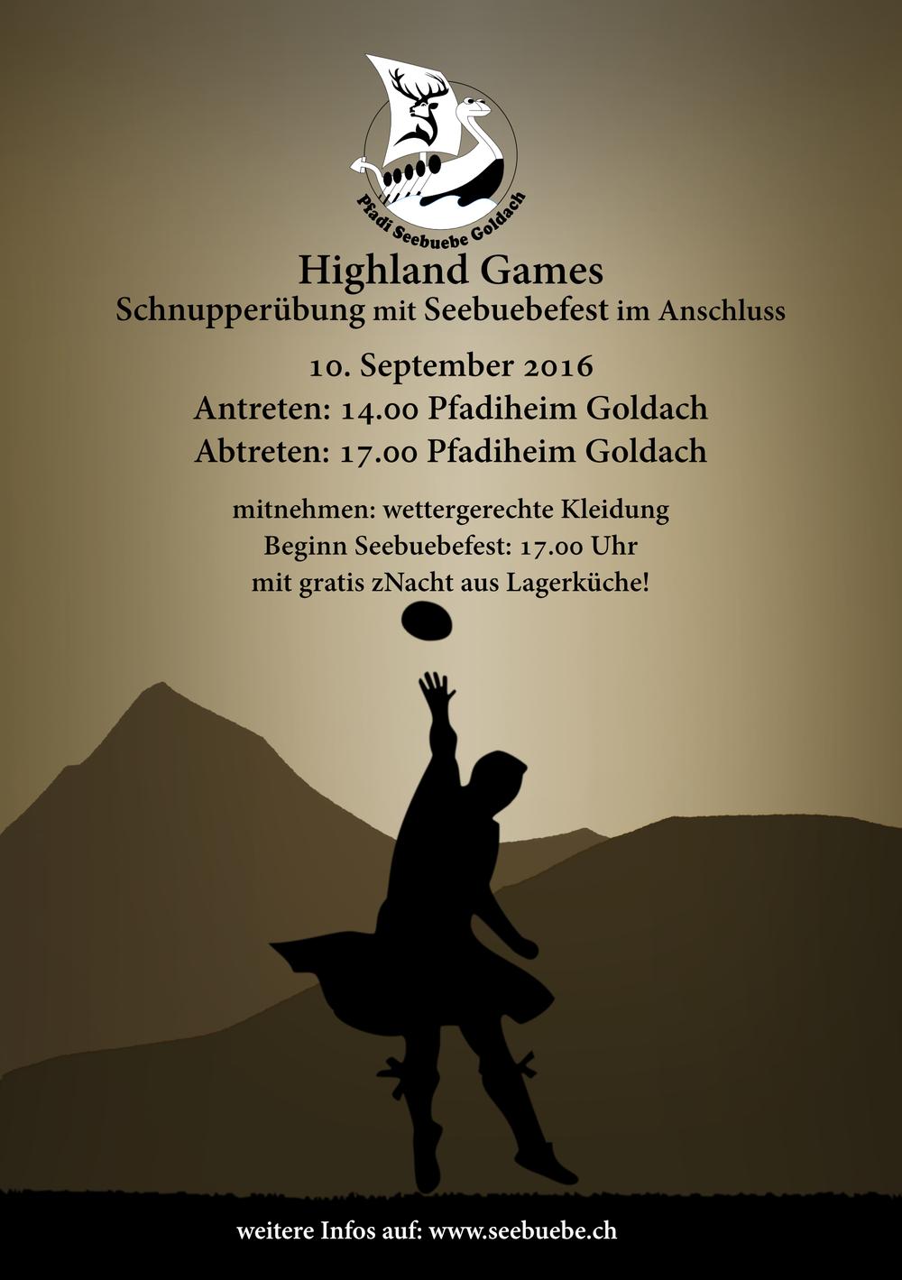 Flyer Seebuebefest