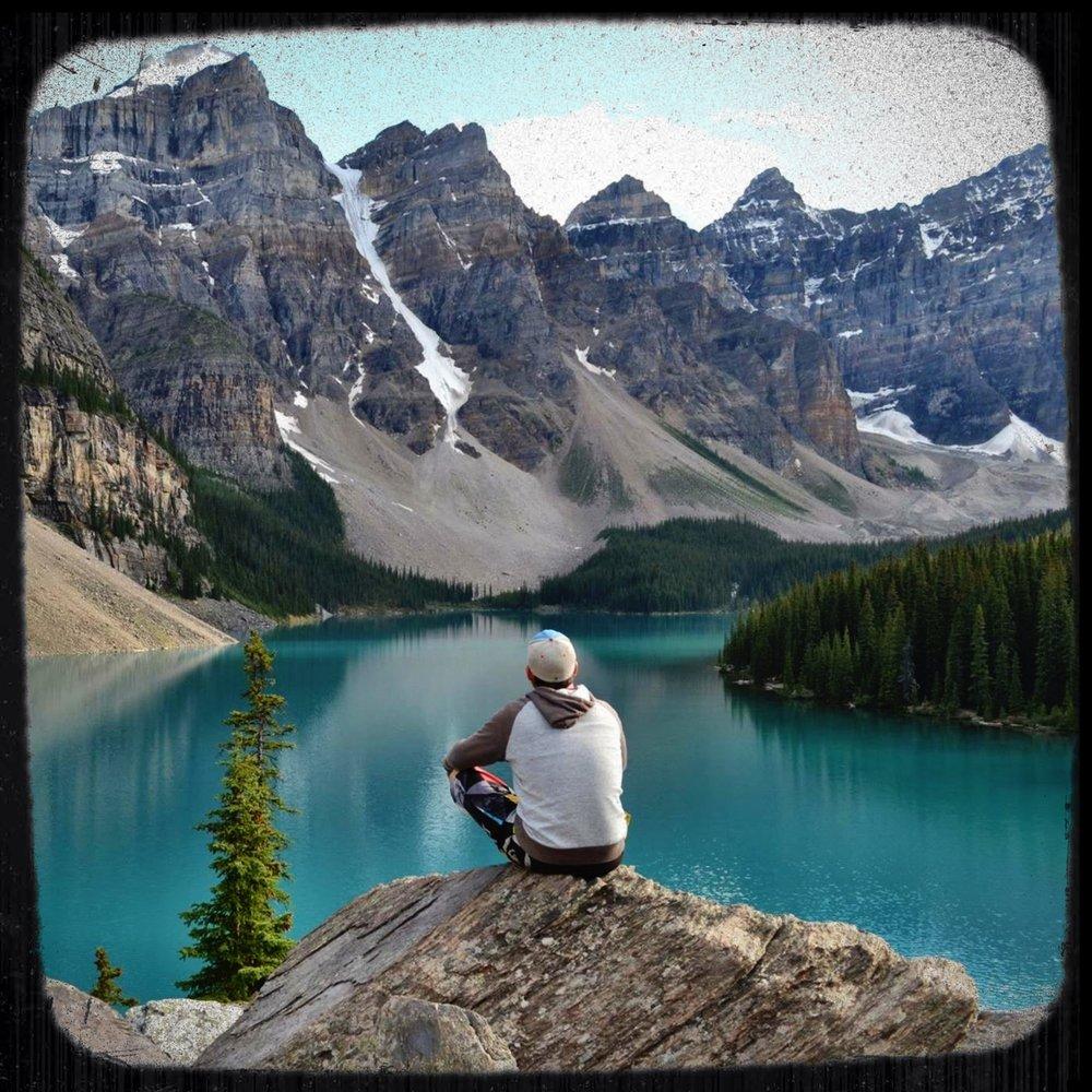 chillin' at moraine lake